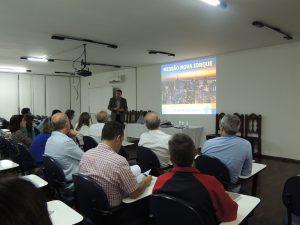 Reitor Válter Gomes participa de Missão à Nova York realizada pela ACIA
