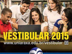 Inscrições para o vestibular do UNIARAXÁ podem ser feitas até 13 de novembro