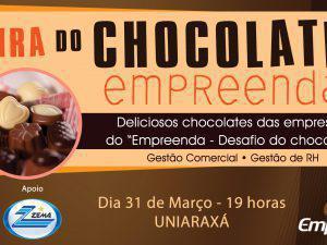 Alunos dos cursos de Gestão promovem Feira de Chocolate nesta terça