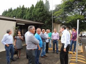 Vereadores visitam UNIARAXÁ e conhecem de perto projetos da Instituição