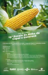 Dia de Campo Ensaio de Milho Capal e Uniaraxa