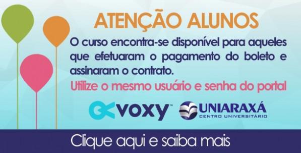 Voxy – Acesso a plataforma Voxy