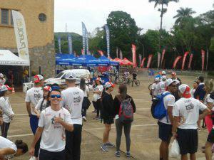 Participação dos alunos de Educação Física do UNIARAXÁ bate recorde na Copa de Mountain Bike