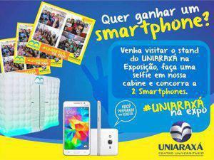 UNIARAXÁ terá cabine fotográfica, sorteio de celulares e diversos brindes na Expoaraxá
