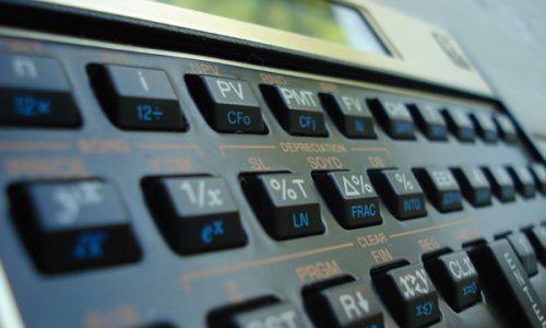 Realize Cálculos com a HP12C