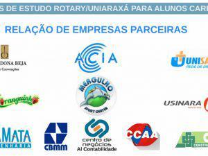Programa de Bolsa de Estudos do Rotary forma primeiras alunas no UNIARAXÁ