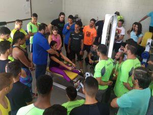Curso de Educação Física do UNIARAXÁ promove interação com alunos e comunidade