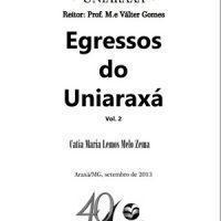 Livro – Egressos do Uniaraxá