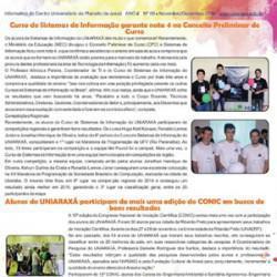 No UNIARAXÁ Acontece – Edição 9