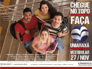 Vestibular/2017 UNIARAXÁ é no próximo domingo, 27