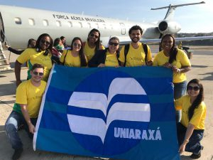Equipe do UNIARAXÁ embarca rumo ao Projeto Rondon